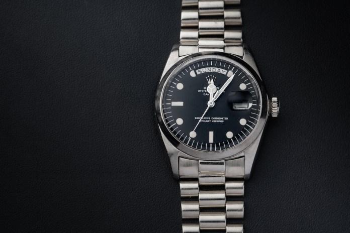 Rolex Mercedes Watch Hands