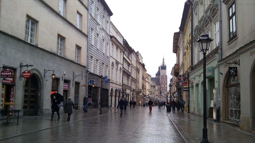 Calles Cracovia