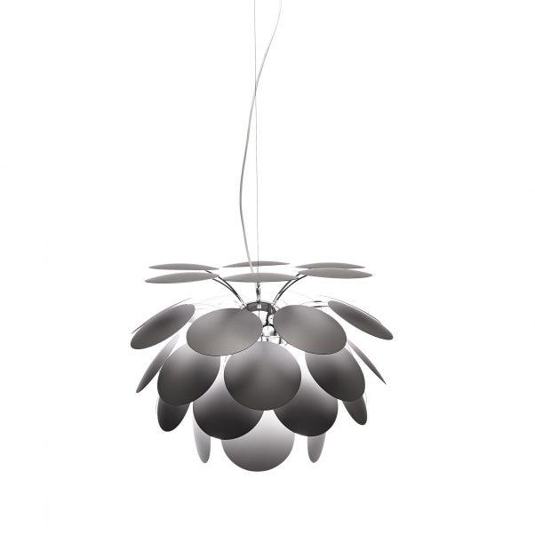 Lámpara de techo Discocó 88 gris