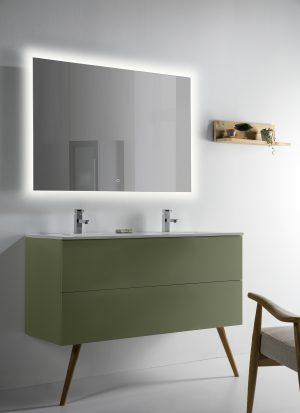 ejemplo espejo con luz Estela 50W