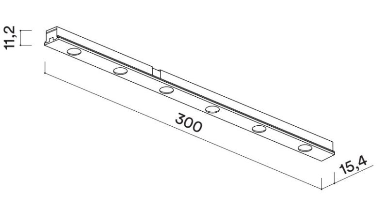 lineal code magnetic medidas