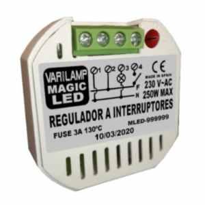 Pastilla reguladora universal led