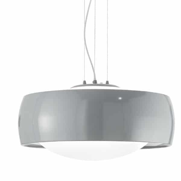 Lámpara de techo comfort gris