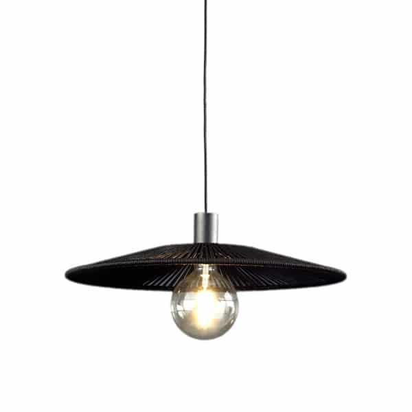 Lámpara de techo Pamela negro
