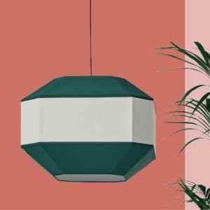 Lámpara de techo Bauhaus verde