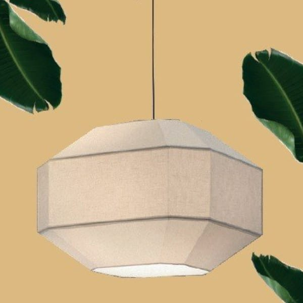 Lámpara de techo Bauhaus blanco