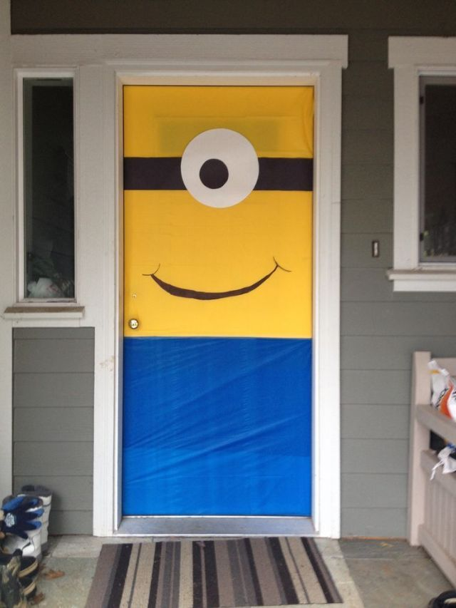 furniture-design-project-for-front-door-minion-party-decor