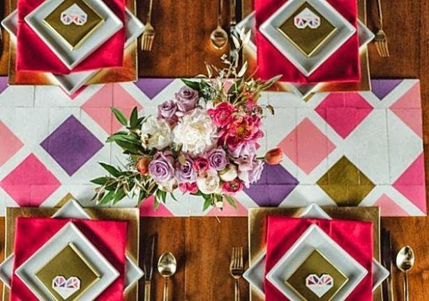 Geometric-wedding-table-decor