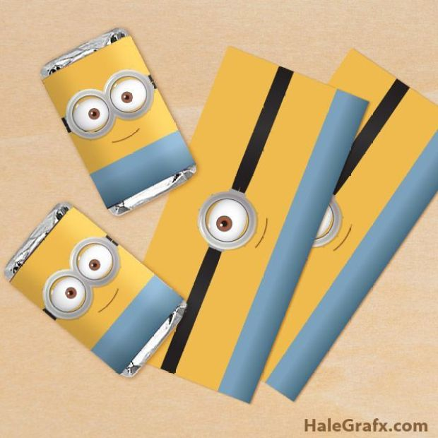 minion-candy-bar-wrapper