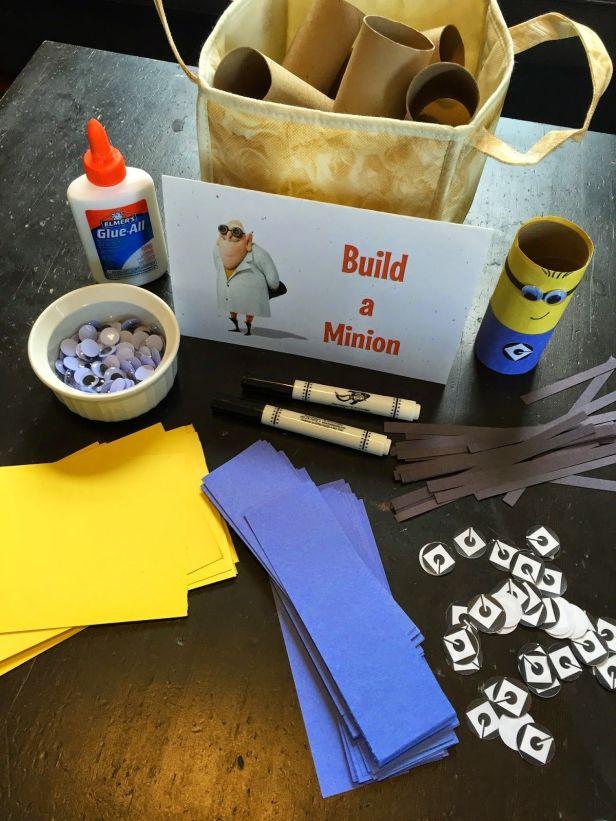 Minion Party Build a Minion