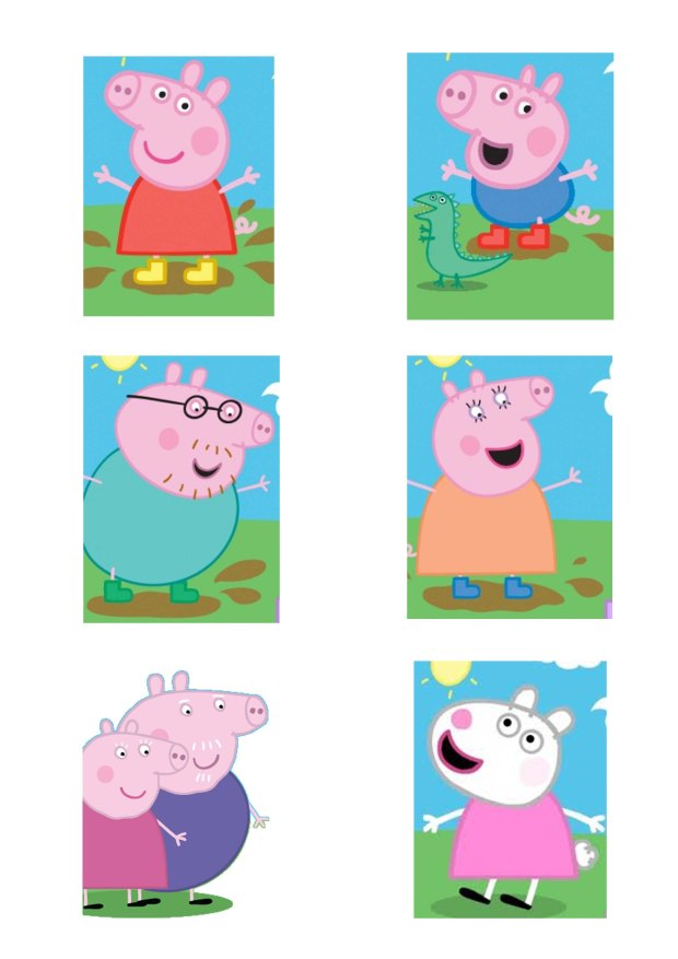 2b12a5bc3 FIESTA PEPPA PIG: 10 dulces ideas – LUZ ANGELA