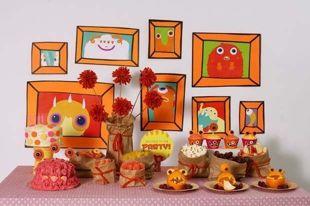 monster_birthday_party_dessert_table