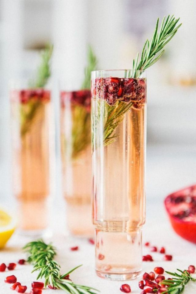 Pomegranate-Rosemary-Spritzer