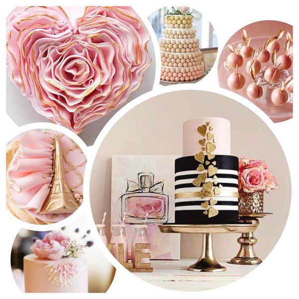 MESA DE DULCES POR COLOR: ROSA BLUSH