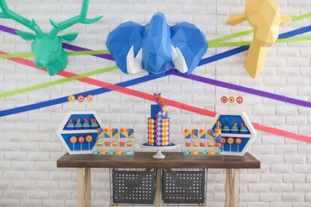 Geometric-Jungle-Safari-Birthday-Party-via-Karas-Party-Ideas-KarasPartyIdeas.com16