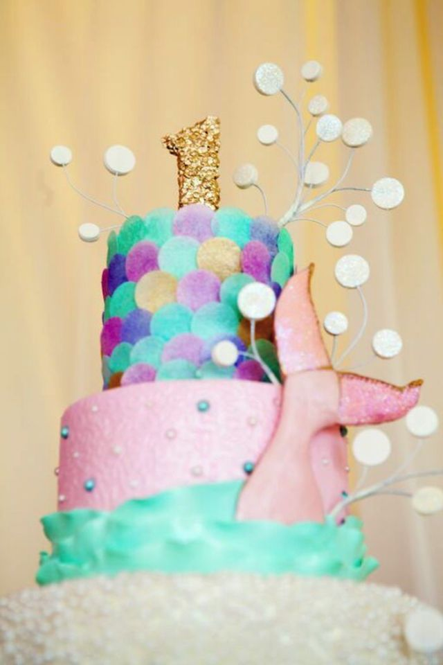 Mermaid-+-Under-The-Sea-1st-Birthday-Party-via-Karas-Party-Ideas-KarasPartyIdeas.com12 (1)