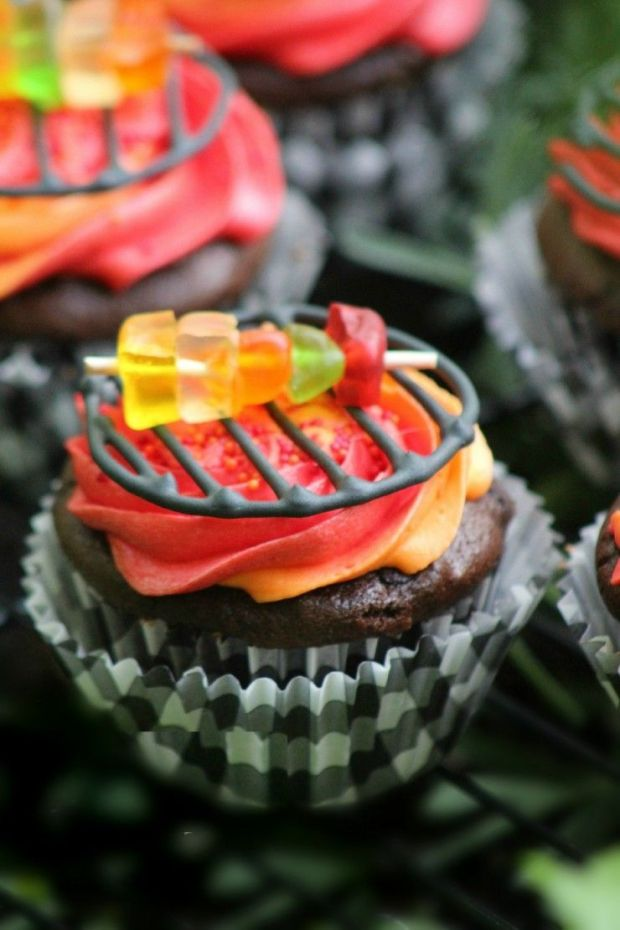 Grill-Cupcakes