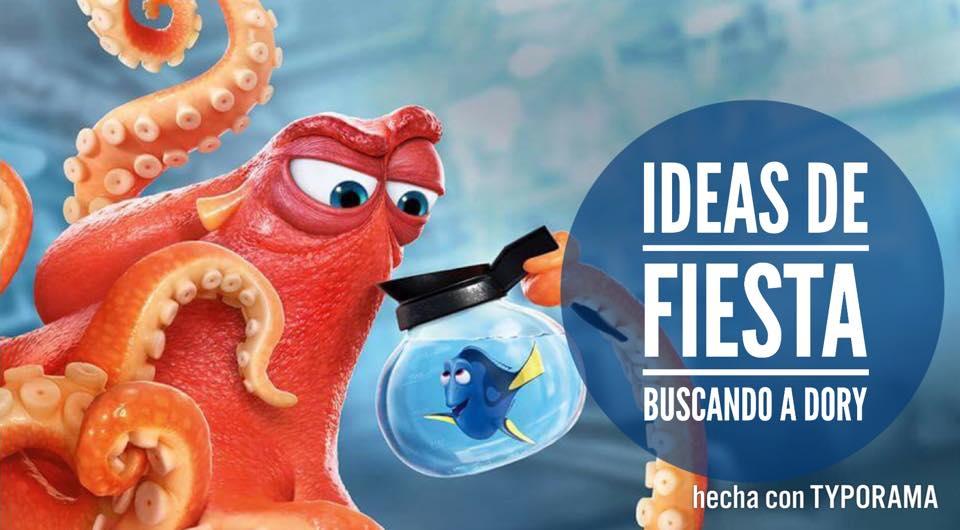 10 DULCES IDEAS PARA UNA FIESTA DE BUSCANDO A DORY