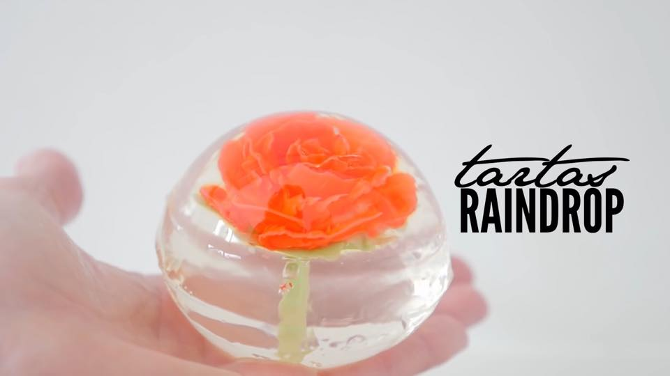 TENDENCIA: TARTA «RAINDROP CAKE»