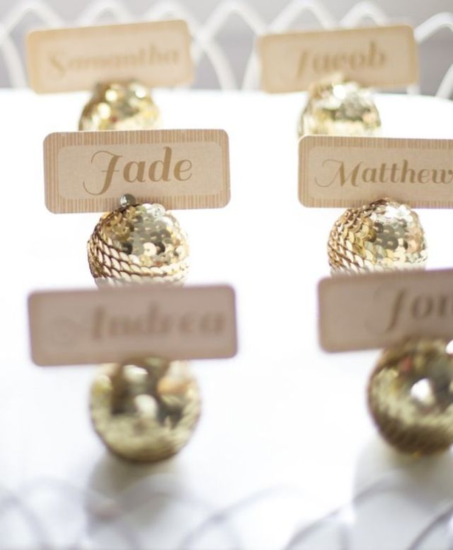 gold-sequin-disco-ball-place-cards-AGH-new-years-eve-party-diy-inspiration-knotty-bride1.jpg