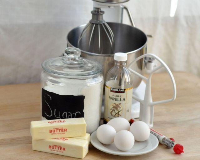 swiss-meringue-buttercream-recipe-ingredients