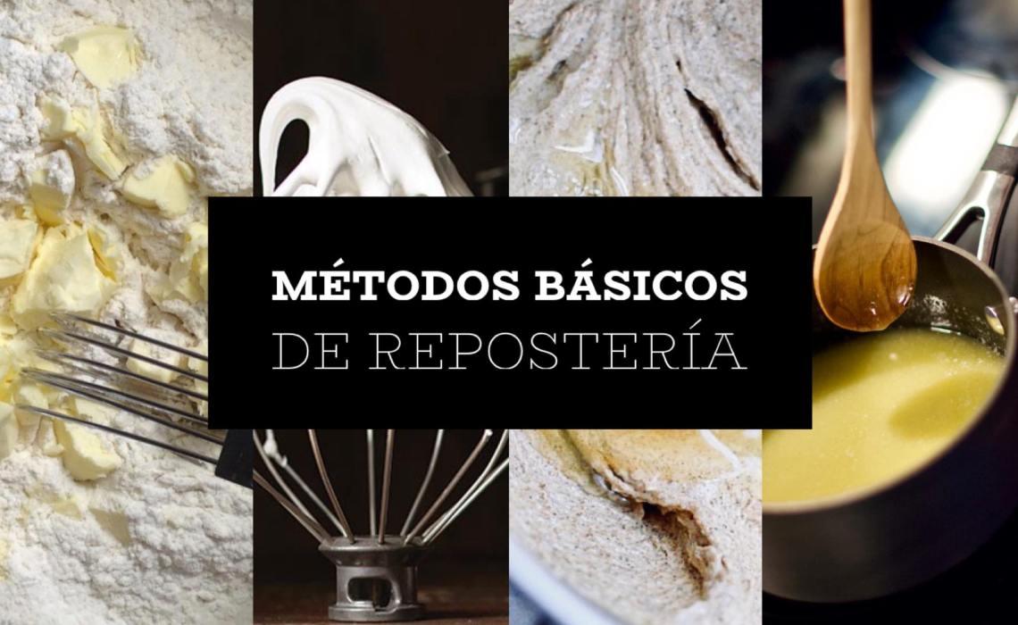 LOS CUATRO MÉTODOS BÁSICOS DE REPOSTERÍA