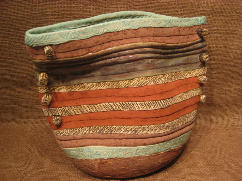 Luz Angela Crawford - Turquoise Bag