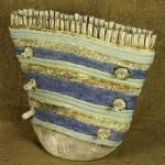 Luz Angela Crawford - Blue Bag