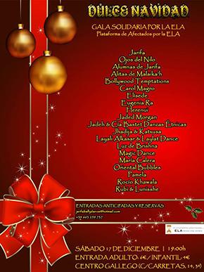 ¡Dulce Navidad! Gala solidaria por la ELA