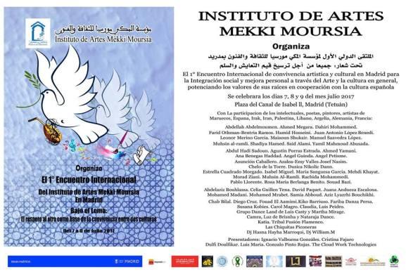 Primer Encuentro Internacional del Instituto de Artes Mekki Moursia