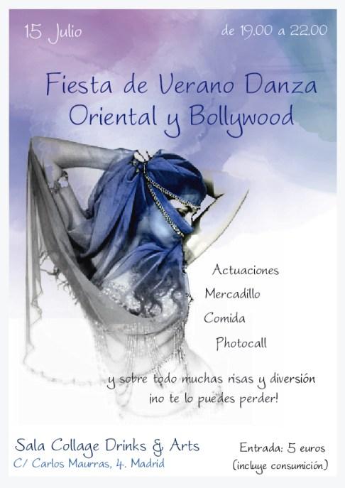 Fiesta de Verano Bollywood y Danza Oriental