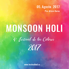 Monsoon Holi 2017