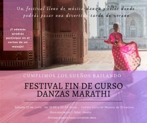 Fin de Curso danzas Marathi