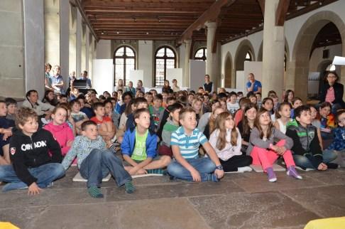 Schülerinnen und Schüler aus Stadt und Kanton Luzern
