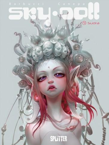 Cover der regulären Ausgabe (Quelle: Splitter Verlag)