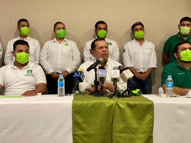 Partido Verde elige a Misael Sánchez Sánchez como candidato a la gubernatura de Sinaloa