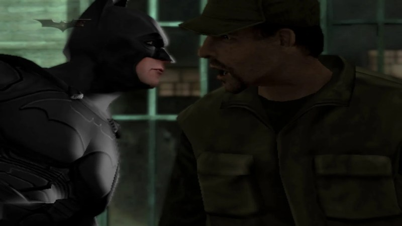 Batman Begins 2005 Game