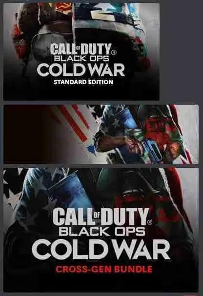 Call of Duty: Black Ops Cold War Art Leak