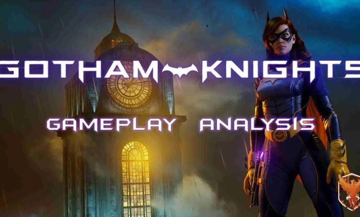 Gotham Knights Gameplay Analysis   LV1 Gaming