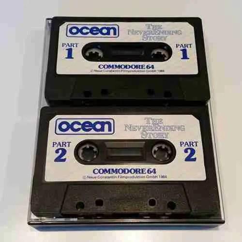 C64 Neverending Story Cassette