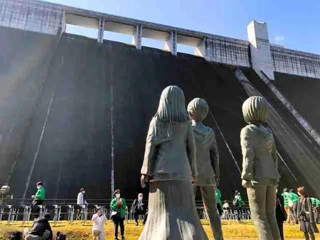 Attack on Titan Statues