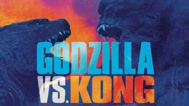 colorful image of godzilla and king kong