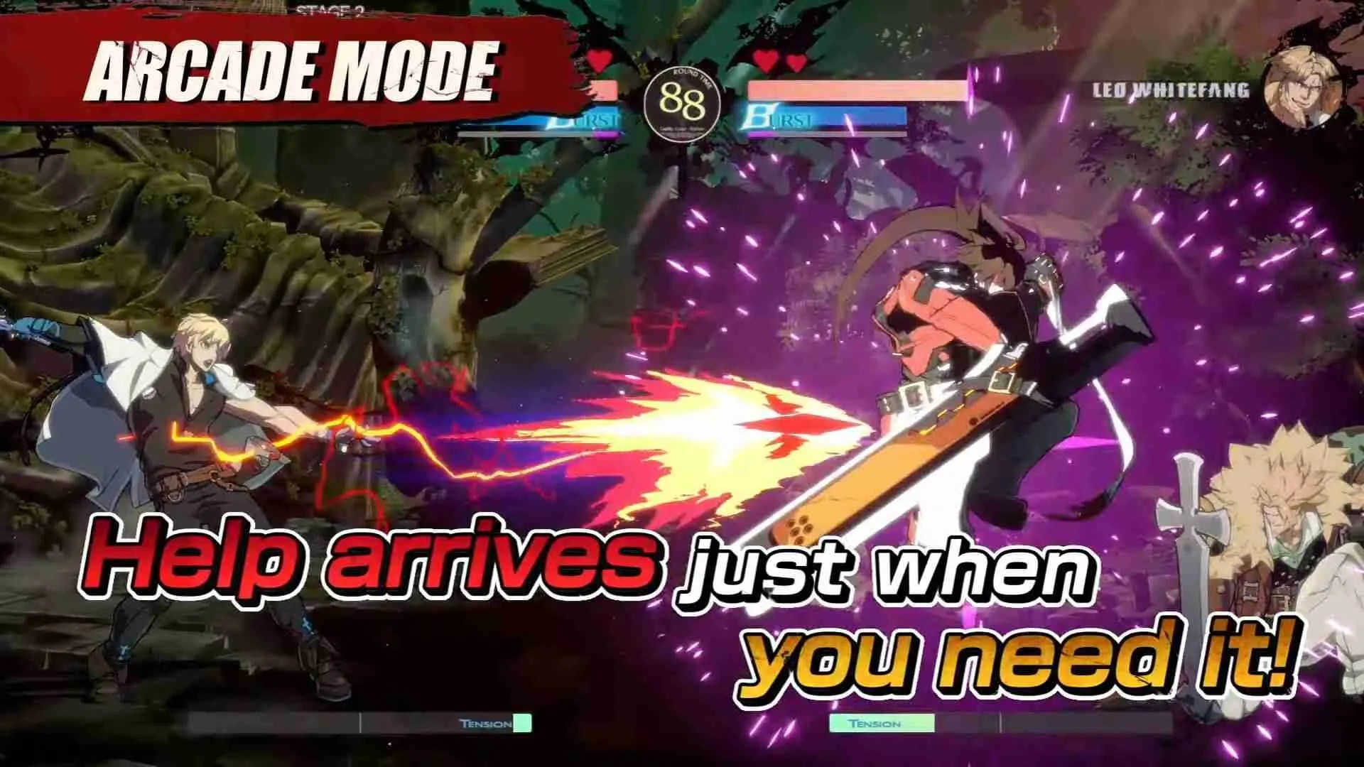 image of arcade mode guilty gear strive