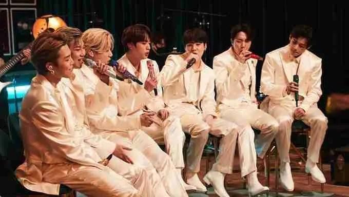 BTS mtv unplugged