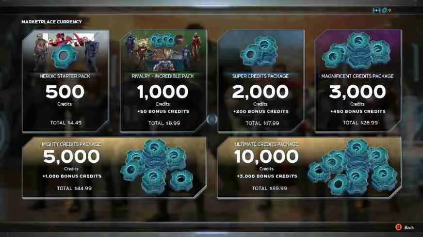Microtransactions for Marve's Avengers.