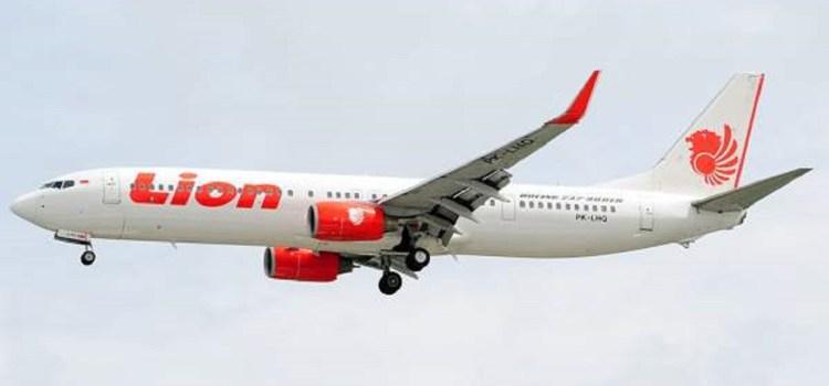 Un vuelo de Lion Air se estrelló en el mar en Indonesia con 189 personas a bordo