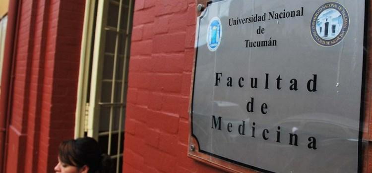 La Facultad de Medicina seguirá con el cupo en el ingreso