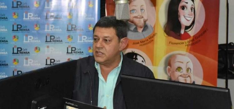 """Juan Luis Pérez: """"Es imprescindible que el gobernador y el intendente trabajen juntos"""""""