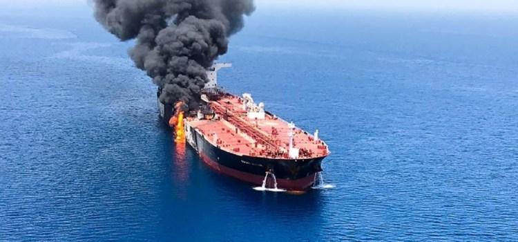 EE.UU. acusa a Irán de los «ataques» a los buques petroleros