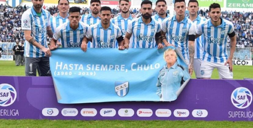 Atlético logró su primera victoria en la Superliga